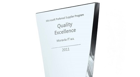 Microsoft's Quality Excellence Award