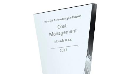 Microsoft's Cost Management Award